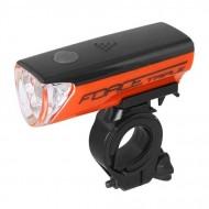 Far FORCE 3 LED negru/portocaliu