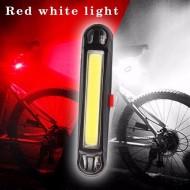 Avertizor fata sau spate RPC Z, cu acumulator si USB, roşu-alb