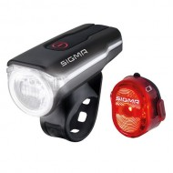 Far/avertizor SIGMA Aura 60 Lux + SIGMA Nugget Flash II