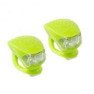 Far/avertizor M-WAVE Cobra IV - verde neon
