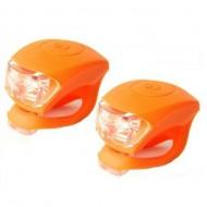 Avertizoare Velotech 2LED portocaliu