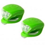 Avertizoare Velotech 2LED verde