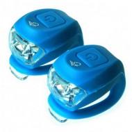 Avertizoare Velotech 2LED albastru
