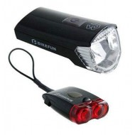 Far/avertizor BIKEFUN Ray 1x2 LED USB