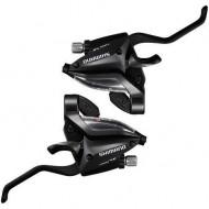 Manete integrate SHIMANO Altus ST-EF500 - 2 degete - set 3x8 viteze FR