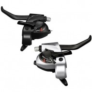Manete integrate SHIMANO Tourney ST-TX800-2A 3x8V