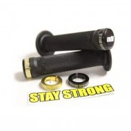 Manșoane ghidon BMX ODI Stay Strong Lock-on negru
