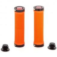 Manșoane ghidon CROSSER HL-G201 - 130 mm orange/negru
