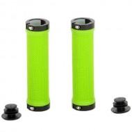 Manșoane ghidon CROSSER HL-G201 - 130 mm verde/negru