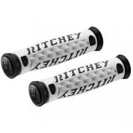 Manșoane ghidon RITCHEY TG-6 125 mm alb/negru