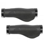 Manșoane ghidon M-WAVE Ergonomic Rubber Lock-on - 130 mm