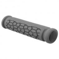 Manșoane ghidon VELO Foam Nano 130 mm gri/negru