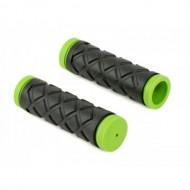 Manșoane ghidon Copii AUTHOR AGR Junior R5 100 mm negru/verde