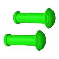 Manșoane ghidon BIKEFORCE Kid 102 mm verde