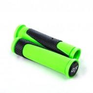 Manșoane ghidon BIKEFORCE 130 mm negru/verde