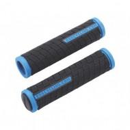 Manșoane ghidon BBB DualGrip - 125 mm negru/albastru