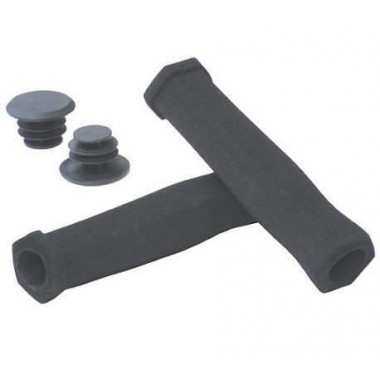 Manșoane ghidon BIKEFUN Spumă 2D - 130 mm