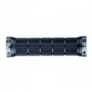 Manșoane ghidon PROPALM HY-1005EP Lock-On negru/albastru