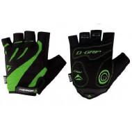 Mănuși ciclism MERIDA Comfort Gel - fără degete negru/verde