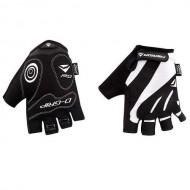 Mănuși ciclism MERIDA Comfort Gel - fără degete negru/alb