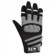 Mănuși ciclism M-WAVE - cu protecție la degete mărimea S
