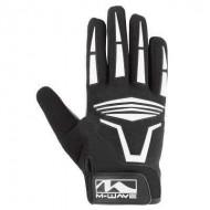 Mănuși ciclism M-WAVE - cu protecție la degete SL mărimea S