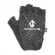 Mănuși ciclism M-WAVE fără degete Spiderweb mărimea L