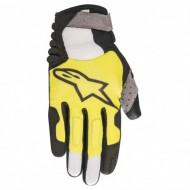 Mănuși ciclism ALPINESTARS Linestorm - negru/galben M