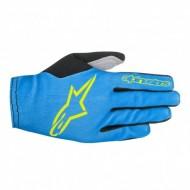 Mănuși ciclism ALPINESTARS Aero 2 - albastru/galben L