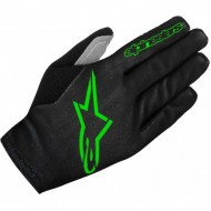 Mănuși ciclism ALPINESTARS Aero 2 - negru/verde L