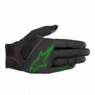 Mănuși ciclism ALPINESTARS Aero 3 - negru/verde L