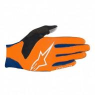 Mănuși ciclism ALPINESTARS Aero 3 - albastru/portocaliu L