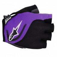 Mănuși ciclism ALPINESTARS Pro Light - negru/mov L