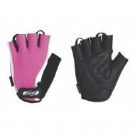Mănuși ciclism BBB Lady Zone - roz