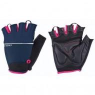 Mănuși ciclism BBB Omnium - albastru/roz
