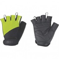 Mănuși ciclism BBB Cooldown - negru/verde