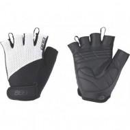Mănuși ciclism BBB Cooldown - negru/alb