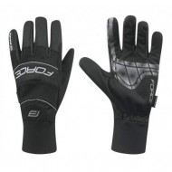 Mănuși ciclism FORCE Windster - negre