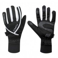 Mănuși ciclism FORCE Ultra Tech - negre mărimea XL