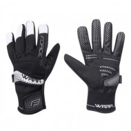 Mănuși ciclism FORCE Warm - negre