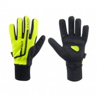 Mănuși ciclism copii FORCE X72 - fluo mărimea L
