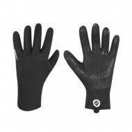 Mănuși ciclism FORCE Rainy - negre