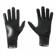 Mănuși ciclism FORCE Extra 17 - negre mărimea L