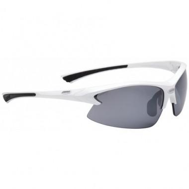 Ochelari ciclism BBB Impulse albi / lentile fumurii