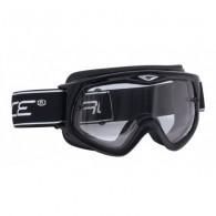 Ochelari ski FORCE Albin negru / lentile transparente