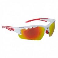 Ochelari ciclism FORCE Ride Pro roşu/alb