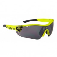 Ochelari ciclism FORCE Race Pro fluorescent / lentile negre