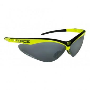 Ochelari ciclism FORCE Air negru/fluorescent / lentila negru laser