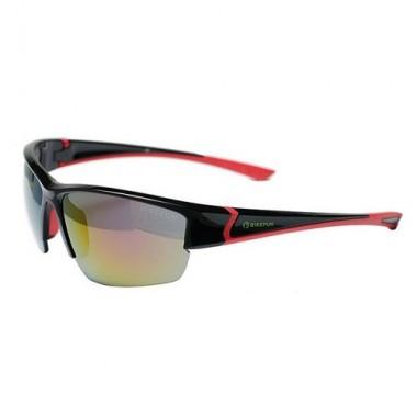 Ochelari ciclism BIKEFUN Ace negru/roșu