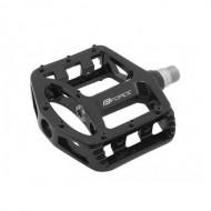 Pedale BMX FORCE - magneziu - negre